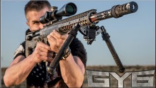Most Accurate 50cal Ever? - The Desert Tech HTI .50 BMG Rifle [ Full Review ]