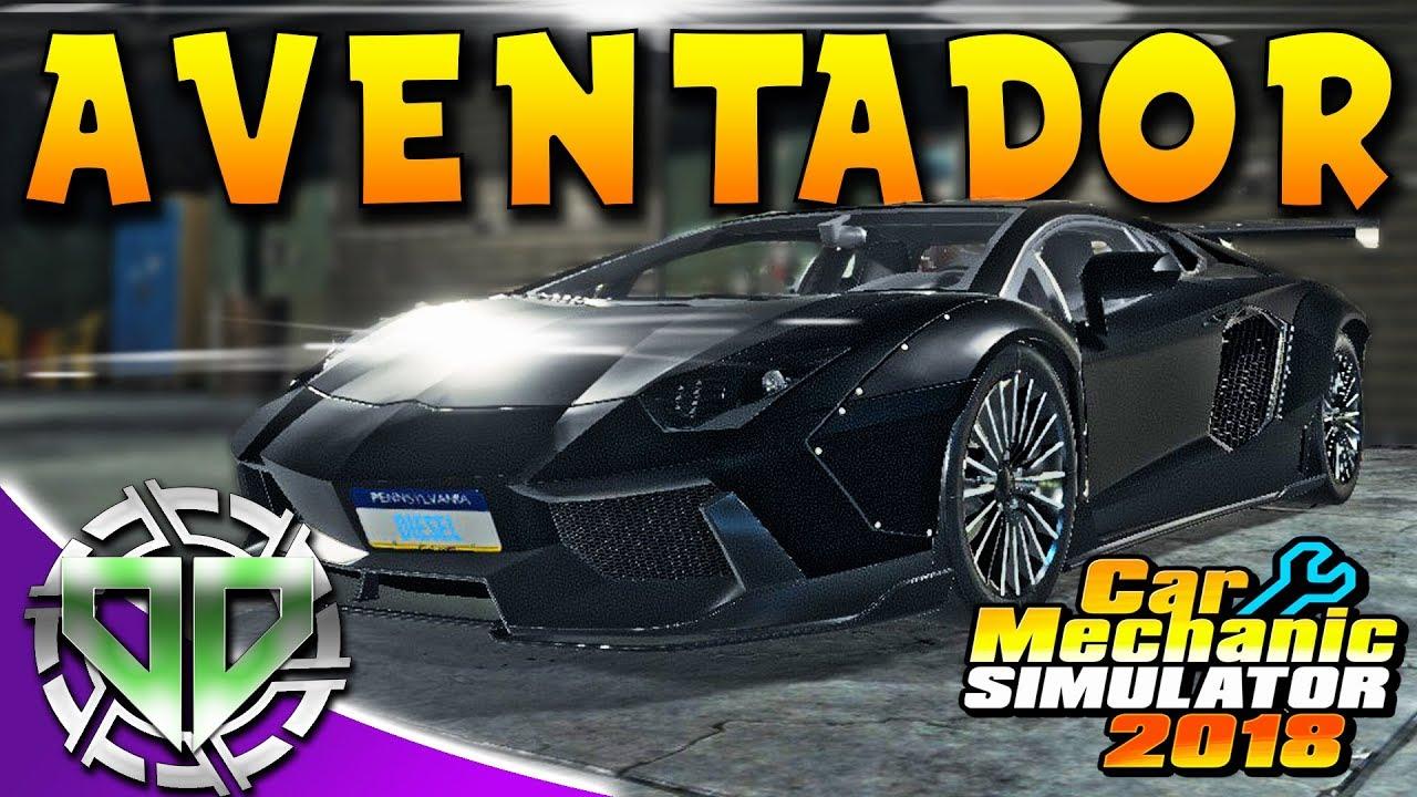 Car Mechanic Simulator 2018 Lamborghini – mechaniker