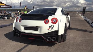 1400HP Nissan GTR R35 Nismo - 318 KM/H Topspeed Accelerations!