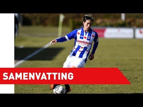 Samenvatting Jong sc Heerenveen - Jong NAC Breda