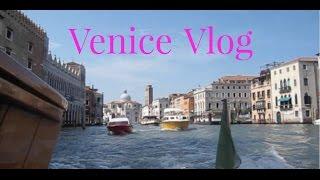 Venice Travel Vlog Thumbnail
