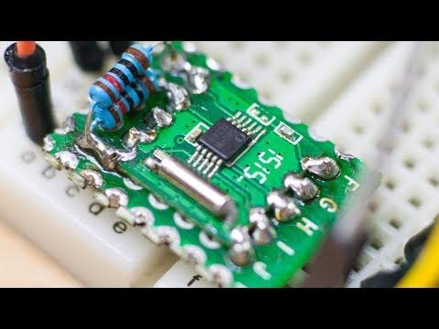 FM радио модуль RDA5807M, Подключение к Arduino