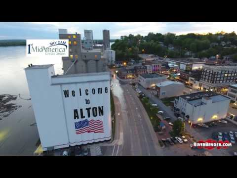 UPDATED DRONE FOOTAGE: Argosy Casino closes early Tuesday