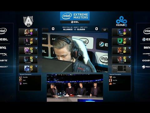 Alliance vs Cloud 9 | Game 1 Semi Finals IEM San Jose LOL 2014 | ALL vs C9 G1