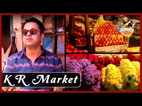 KR Market, Bangalore | Famous Markets in Bangalore | Fresh and Local with Vicky Ratnani