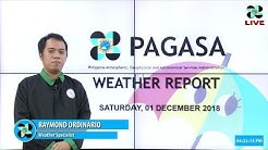 Public Weather Forecast Issued at 4:00 PM December 1, 2018
