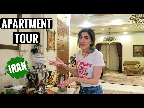 Small Apartment Tour - Two Bedroom Apartment in Tehran, Iran