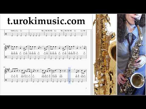 The Archer Sheet Music Saxophone (Alto) - Taylor Swift The Archer Tutorial thumbnail