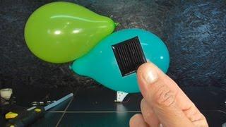 Как сделать Дирижабль летающий от солнца
