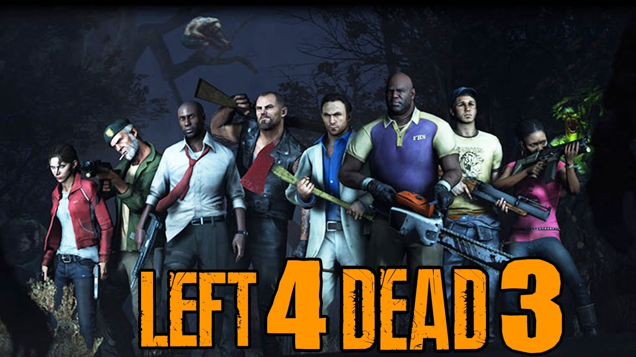 Left 4 Dead 3 - Map and Character Names