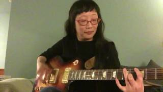violin geek discovers open g tuning on guitar!