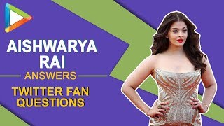 Aishwarya Rai Bachchan: Film with SRK?, Gulab Jamun, World Tour| Twitter Questions