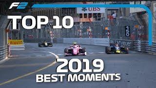 Top 10 Moments | 2019 FIA Formula 2 Season
