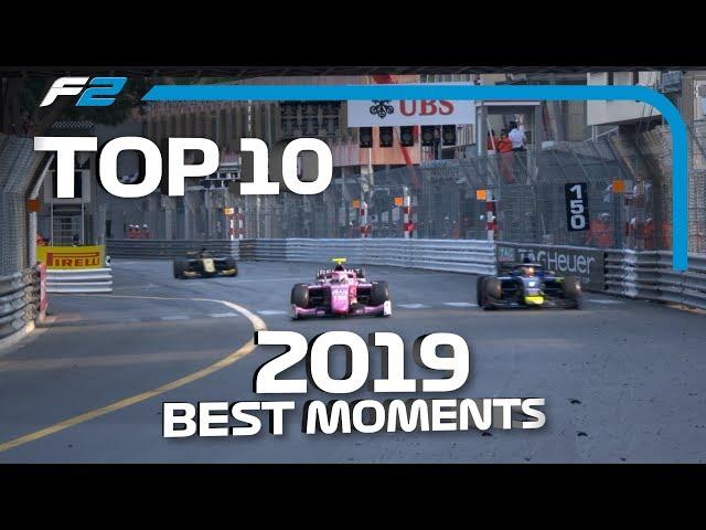 Top 10 Moments   2019 FIA Formula 2 Season