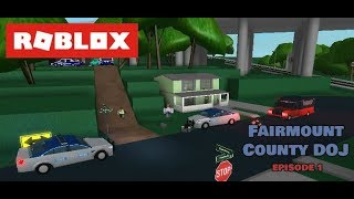 PURSUIT! [LEO] - Roblox Fairmount County RP Episode (1) (1080p60fps)
