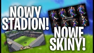 NEW STADIUM! NEW SKINS! PS PLUS PACKAGE! -FORTNITE UPDATE 4.4