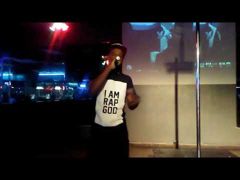 """Fayrothedon """"performing"""" Living in The A live at Jays Place 2 in Stone Mountain Georgia"""