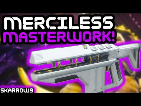 Destiny 2 - Merciless Masterwork Challenge Guide, Stats, and Review!! thumbnail