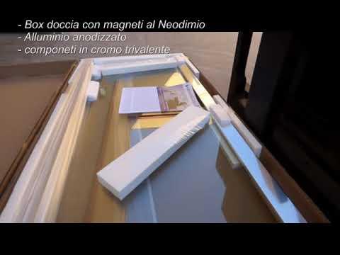 Box doccia con magneti Permanenti al Neodimio