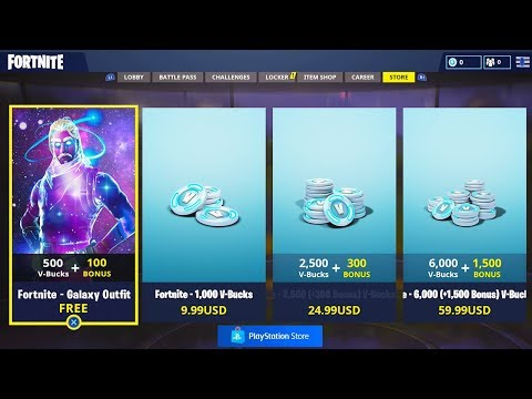 The New Galaxy Skin STARTER PACK.. GREAT NEWS! (Fortnite Battle Royale)