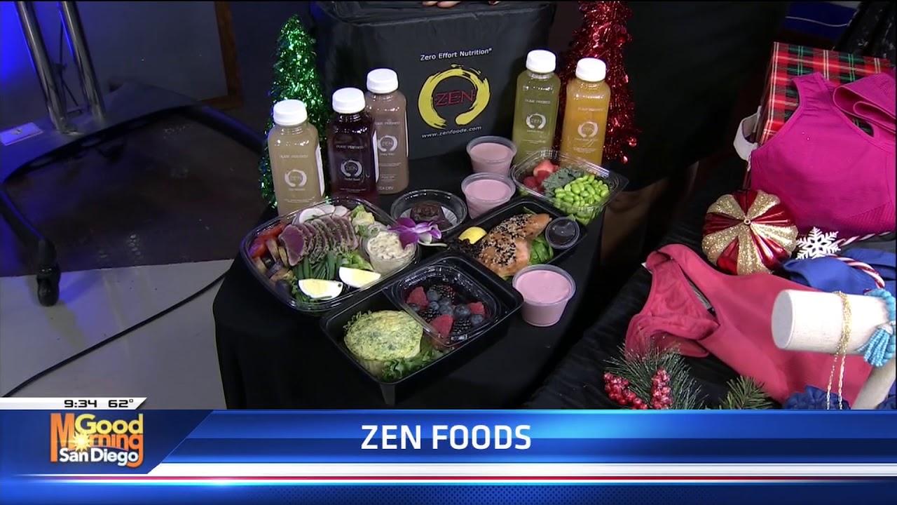 Gift Guide on KUSI - Z.E.N. Foods