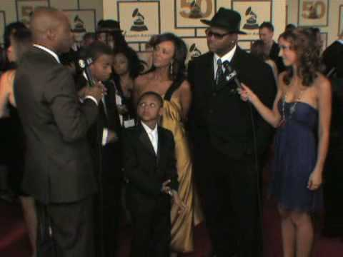 The 50th Grammy Awards - Jimmy Jam Red Carpet Interview
