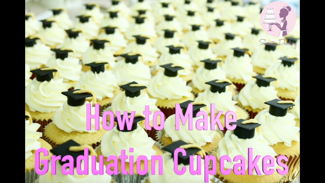 How To Make Graduation Cupcakes