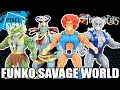 ThunderCats Funko Savage World Wave 1 Action Figures Video Review