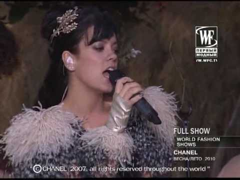 lily allen - not fair (fashion world)