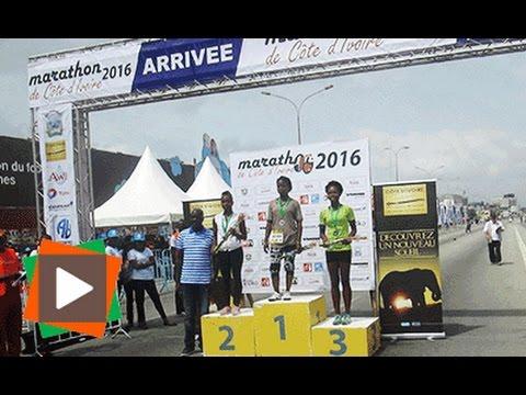 Reportage Sport/ Marathon de Côte d'Ivoire 2ème édition à Abidjan, Mardi 15 Novembre 2016