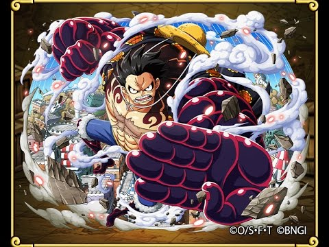 Optc Luffy Gear 4 6 Animation Youtube
