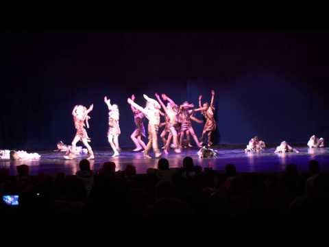 Видео, VORTEX. Отчетый концерт НГ 2012-2013, Танец огня, 4 группа