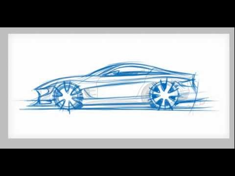 How To Draw Cars Side View Sketch Youtube