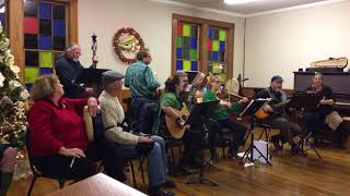Fairytale of New York at Christmas ceilidh