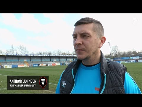 Nuneaton Town 0-2 Salford City - Anthony Johnson post-match interview