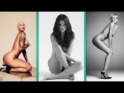 NSFW: 9 Celebrities We Saw Naked in 2015