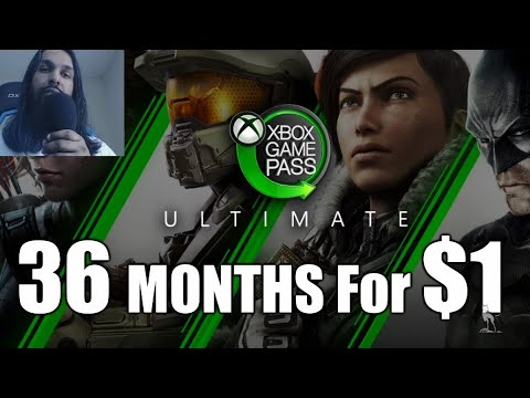 Get 3 Years Of Xbox Game Pass Ultimate For $1
