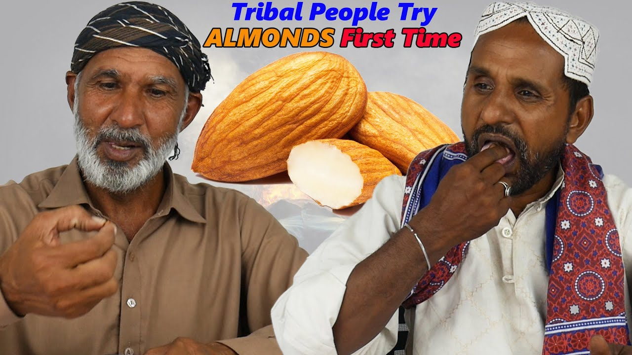 Tribal People Try Almonds for the First Time