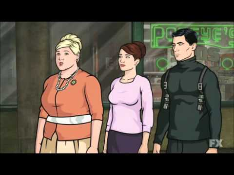 Archer season 3 episode 1 pam youtube - Archer episodes youtube ...