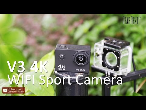 *Flash Sale* V3 4K WiFi Sport Camera - Gearbest.com