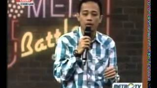 Stand Up Comedy Battle Of Comic Metro TV 05 Maret 2013   Susahnya Sehat part 3 of 3