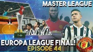 [ttb] pes 2018 - man united master league - europa league final! - end of the season! - ep44