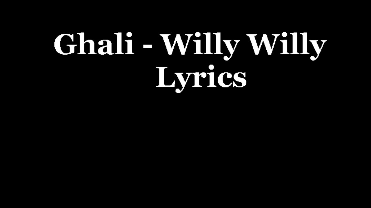 ghali willy willy mp3