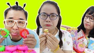 Mẹ Ghẻ Con Chồng | Troll Em Trai Ăn Kẹo Hubba Bubba. Nhà Giàu Chắc Gì Đã Sướng