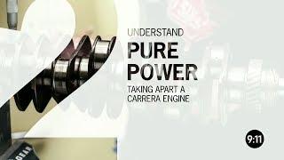 9:11 Magazine By Porsche | Taking Apart A Carrera Engine.