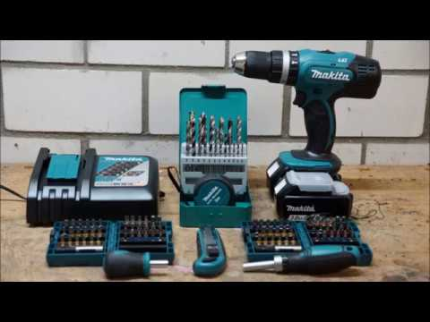 makita akkuschrauber dhp453rfx2 test youtube. Black Bedroom Furniture Sets. Home Design Ideas