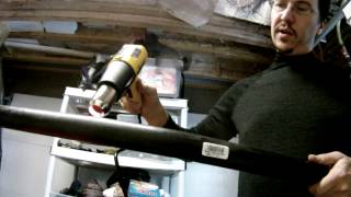 Bending Black Poly Pipe - 76 - My Diy Garage Build Hd Time Lapse