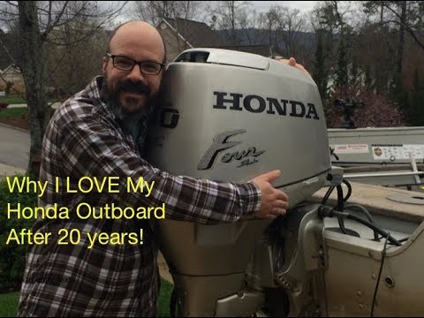 Honda Outboard - 20 Years of Use Review and 7000 miles!