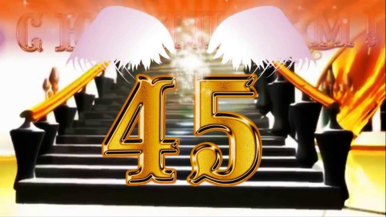 Юбилей 45 лет мужчине - поздравления из фото - YouTube