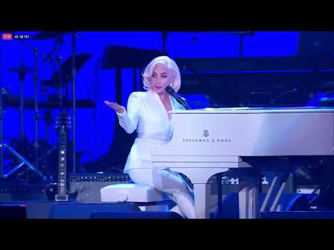 Lady Gaga concert at One American Appeal - Million Reasons/ You and I / The Edge of Glory